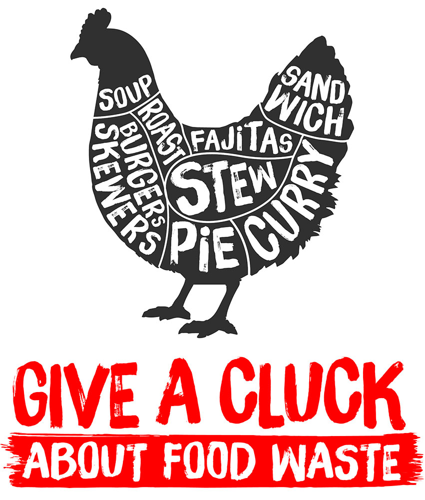 give a cluck logo