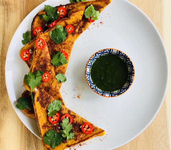 Photo of Masala Spiced French Toast