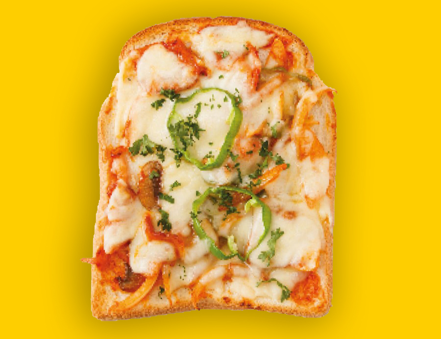 Mini Pizza From Bread End Crusts Love Food Hate Waste