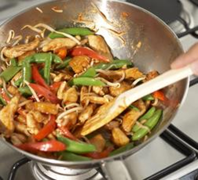 Sweet and Sour Leftover Chicken Stir Fry | Love Food Hate Waste