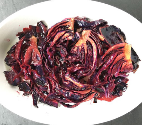 Photo of Pomegranate Glazed Red Cabbage
