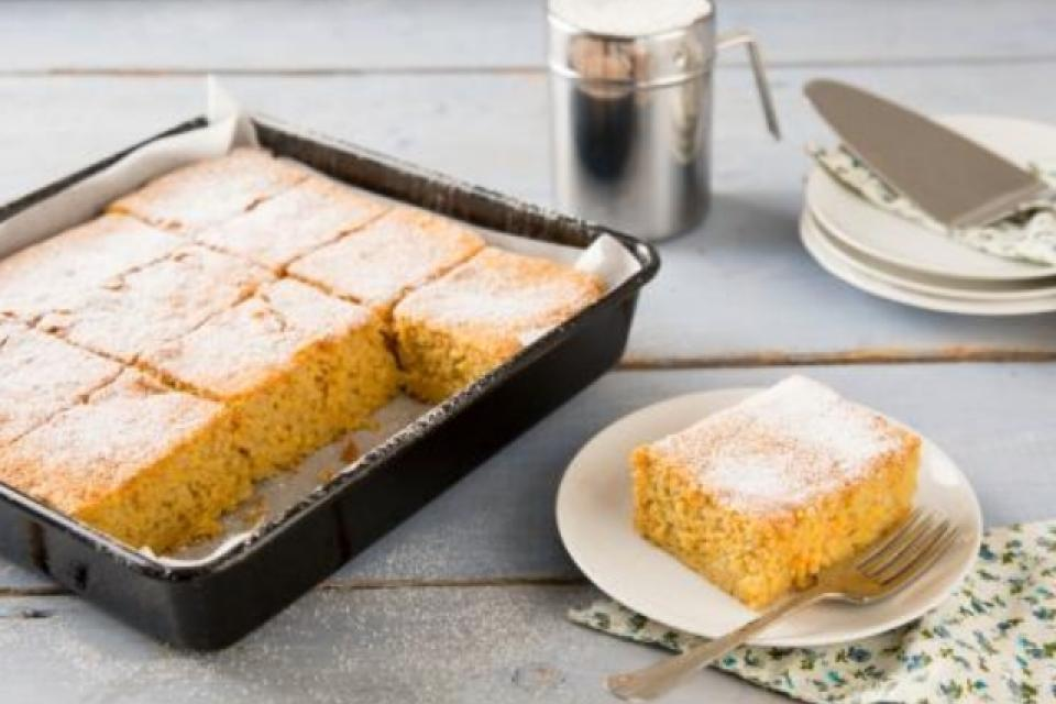 Whole Orange Tray Bake