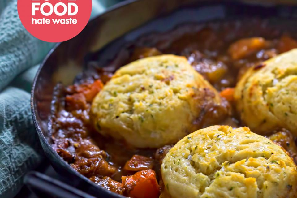 Slow Cooker Beef Stew With Dumplings Love Food Hate Waste