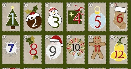 Advent calendar with top tips to save money