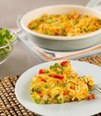 Singapore Noodle Pie image
