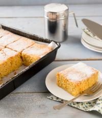 Whole orange tray bake Love Food Hate Waste recipe