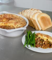 Thrifty Moussaka by Nancy Birtwhistle